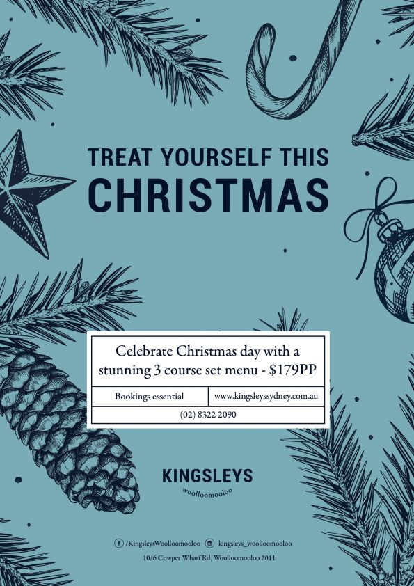 Kingsleys Woolloomooloo Christmas Celebrations