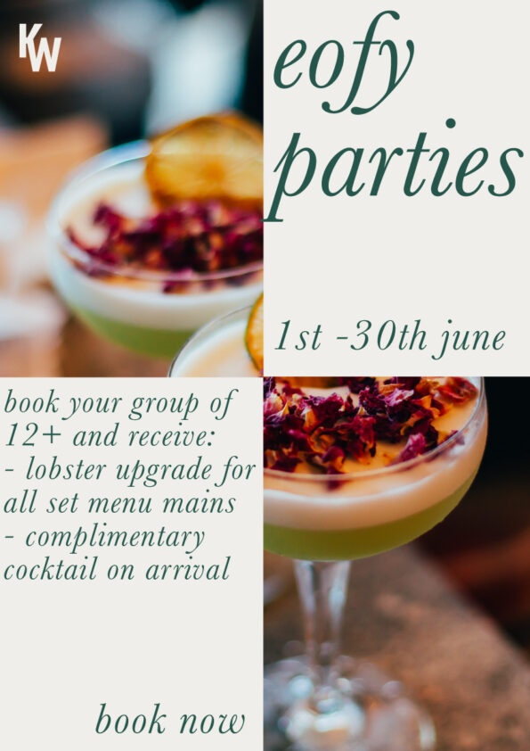 EOFY Parties - Complimentary Upgrades